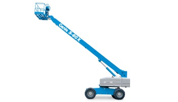 125 ft. telescopic boom lift rental in Oakland