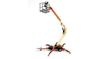 34 ft. towable articulating boom lift rental in Oakland